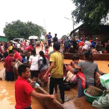 [Prachatai] ภาคประชาชนเรียกร้องรัฐ-เอกชน รับผิดชอบ-ชดใช้ เลิกใช้เขื่อนลาวที่แตก