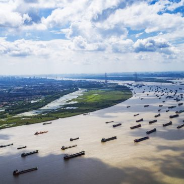 Illegal scale sand dredging wiped out in Yangtze